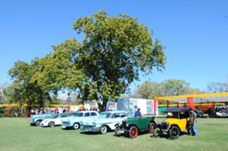 Vintage Cars on Display