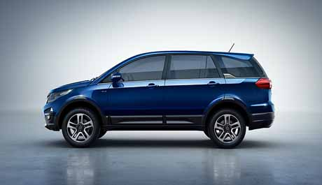 Tata Motors updated their premium SUV, The Hexa