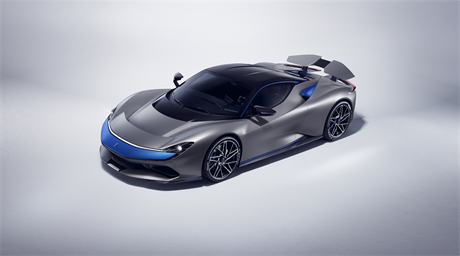 Pininfarina Battista, the world's first luxury electric hyper performance GT