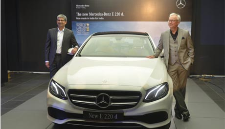 Mercedes launches all new E-Class 220d in India