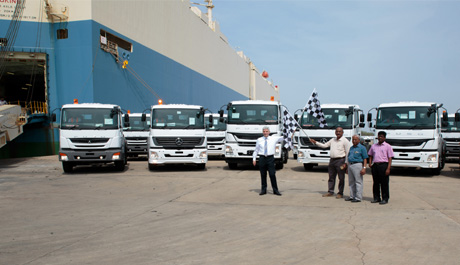 Daimler India Commercial Vehicles crosses export mark of 10,000 trucks