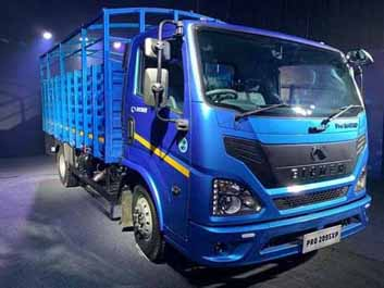 India's first BS-VI CV: Eicher Pro 2000 series launched