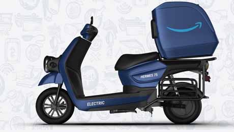 Hermes 75 high-speed delivery electric scooter launched