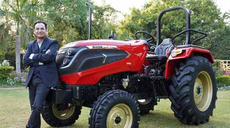 A revolutionary diesel-electric hybrid tractor : Solis Hybrid 5015 launched