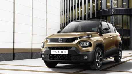 Tata Punch launched , Cheapest 5-star  SUV