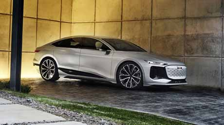 Audi A6 e-tron : concept electric vehicle  unveiled