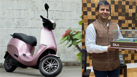 Ola selling 4 electric scooters per second