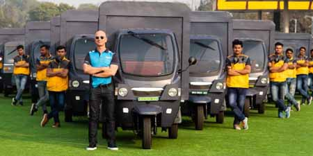 Amazon to boost e-rickshaws sales in India