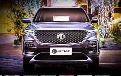 MG Hector India's first 'Internet Car'