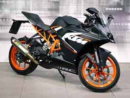 KTM RC 125 ABS launched at Rs 1.47 lakh