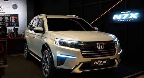 Honda  unveils the N7X SUV Today !