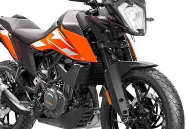 All-new KTM 250 Adventure arriving