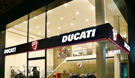 Ducati opens new showroom in Kochi