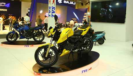 TVS Motor sees 43%  rise in exports